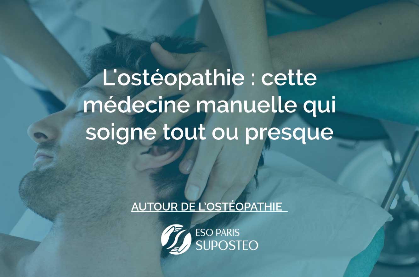 ostéopathie soigne tout