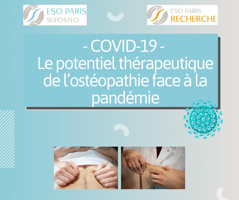 Covid-19 et ostéopathie