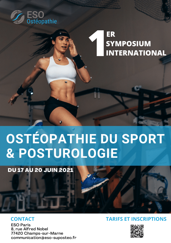 Affiche symposium sport et posturologie