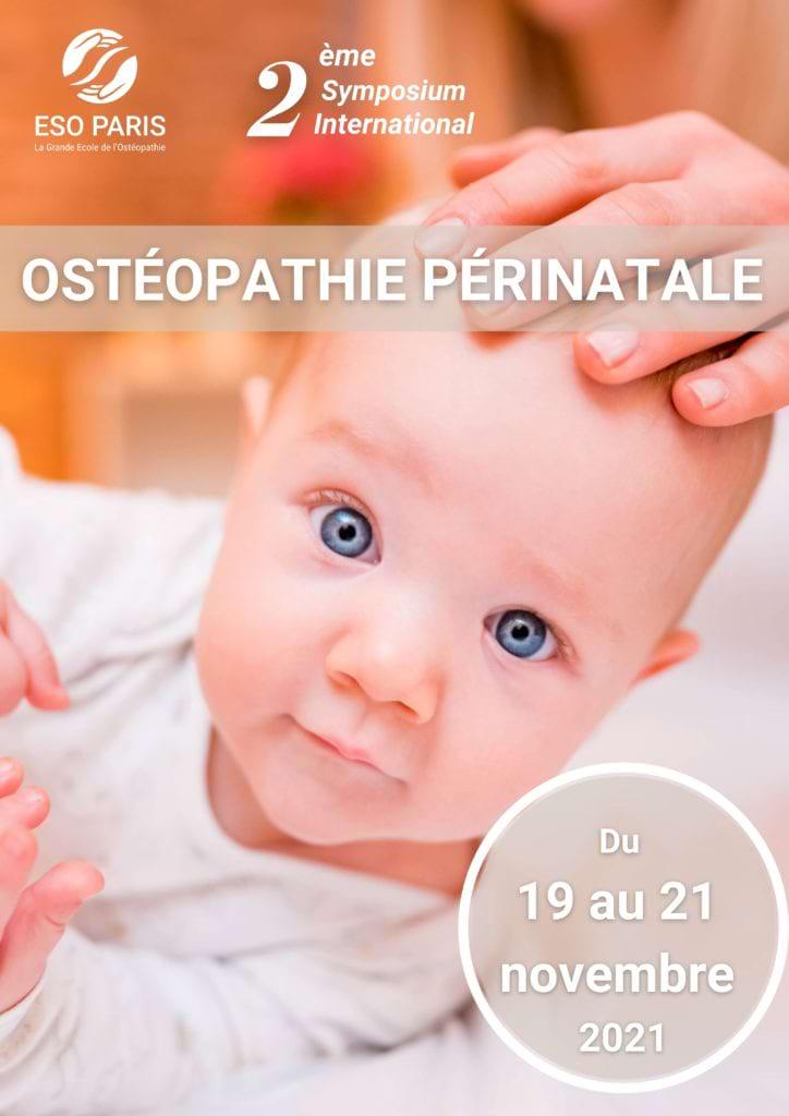 Affiche symposium ostéopathie périnatale